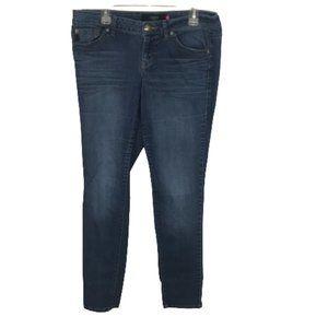 Torrid Dark Wash Denim Tapered Leg Jeans 16 Tall